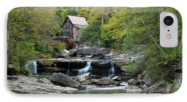 IPhone Case featuring the photograph Glade Creek Grist Mill by Ann Bridges