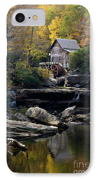 IPhone Case featuring the photograph Glade Creek Grist Mill - D009975 by Daniel Dempster