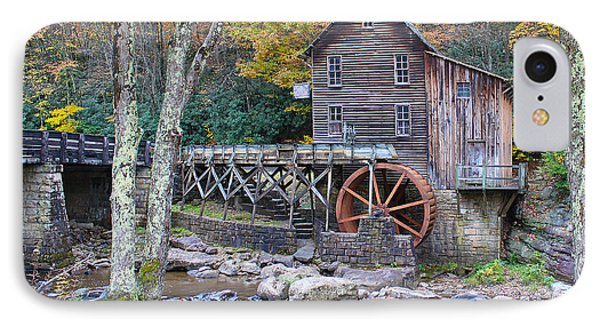 Glade Creek Grist Mill IPhone Case by Jack Schultz