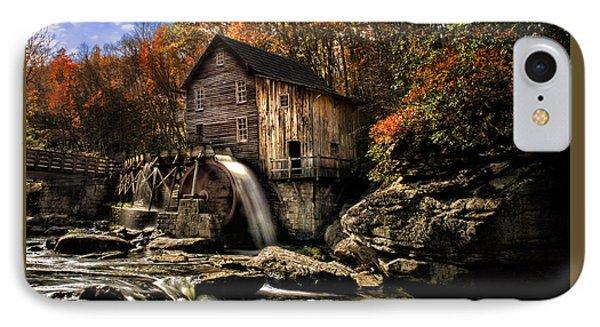 Glade Creek Grist Mill IPhone Case by Mark Allen