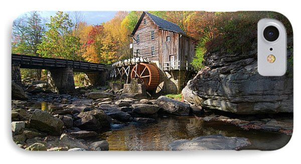 IPhone Case featuring the photograph Glade Creek Grist Mill by Steve Stuller