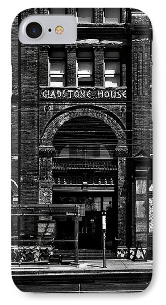 IPhone Case featuring the photograph Gladstone Hotel Toronto Canada No 1 by Brian Carson