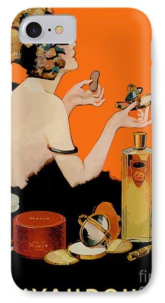 Glamour Vintage Art Deco Cosmetics IPhone Case