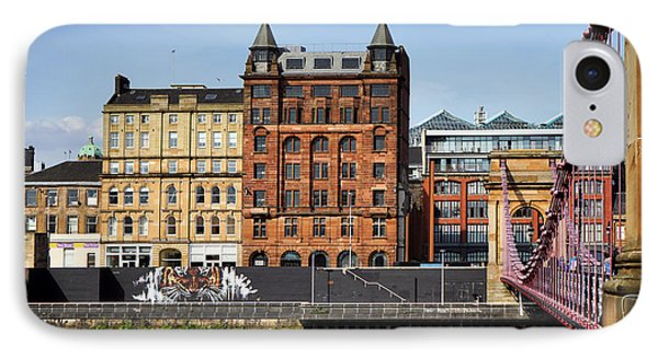 IPhone 7 Case featuring the photograph Glasgow by Jeremy Lavender Photography