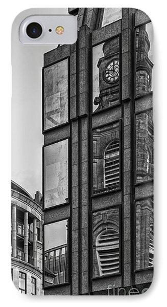 Glasgow Saint Georges Tron Parish Church IPhone Case by Antony McAulay