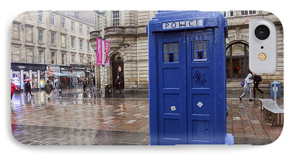Glasgow, Scotland IPhone Case by Lilach Weiss