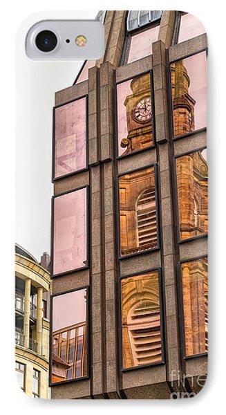 Glasgow St Georges Tron Parish Church IPhone Case by Antony McAulay