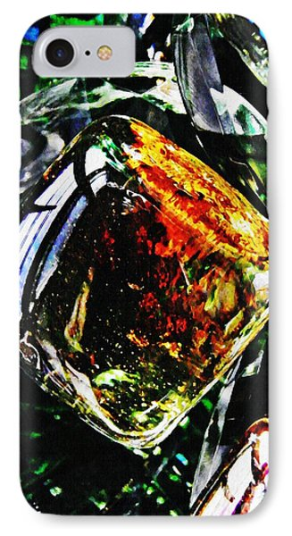 Glass Abstract 160 Phone Case by Sarah Loft