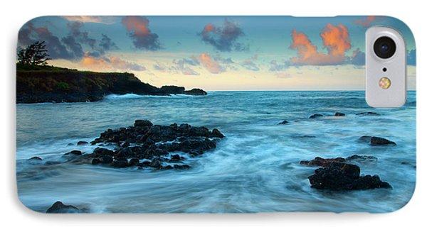 Glass Beach Dawn Phone Case by Mike  Dawson