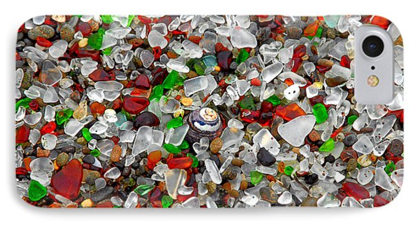 Glass Beach Fort Bragg Mendocino Coast IPhone Case