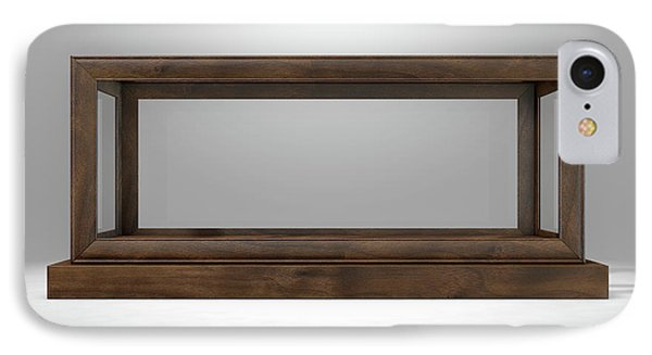 Glass Display Case Frame Horizontal IPhone Case