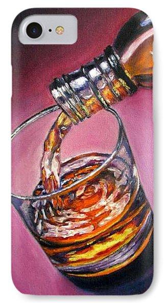 Glass Of Wine Original Oil Painting Phone Case by Natalja Picugina