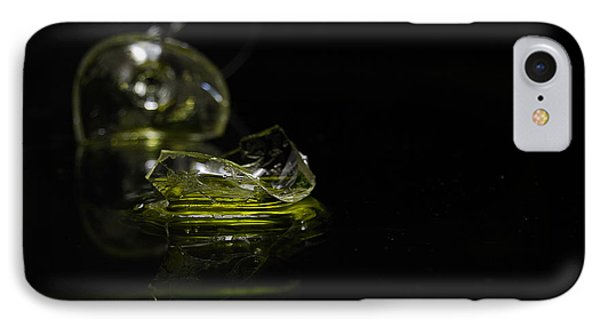 IPhone Case featuring the photograph Glass Shard by Susan Capuano