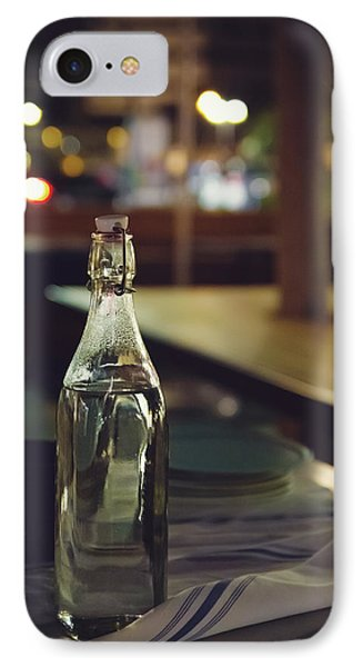 Glass Water Bottle IPhone Case