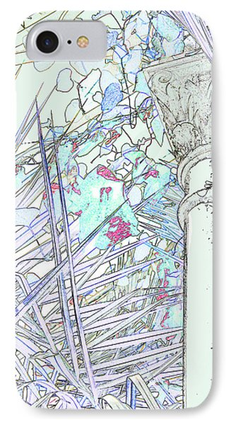IPhone Case featuring the photograph Glasshouse Jungle by Nareeta Martin