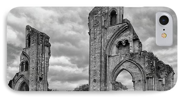 IPhone Case featuring the photograph Glastonbury Abbey by Elvira Butler