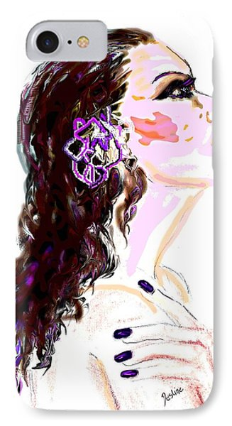 IPhone Case featuring the digital art Glaze by Desline Vitto
