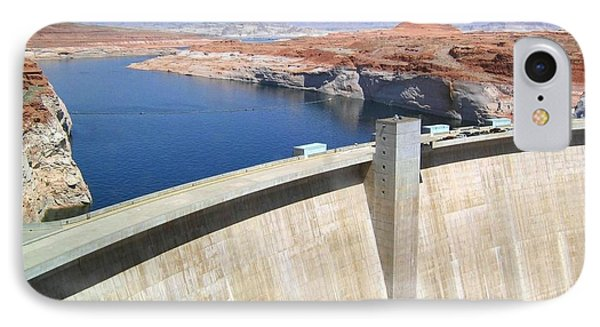 Glen Canyon Dam Phone Case by Will Borden