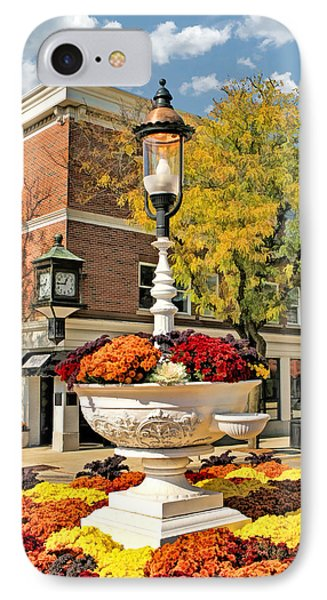 IPhone 7 Case featuring the painting Glen Ellyn Watering Trough by Christopher Arndt
