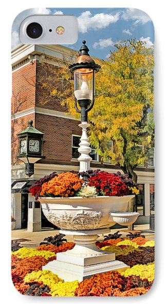 IPhone Case featuring the painting Glen Ellyn Watering Trough by Christopher Arndt