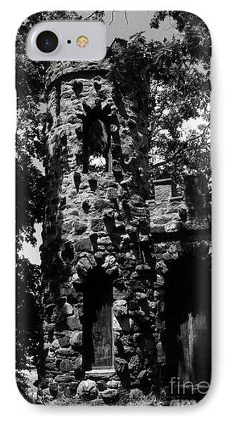 Glen Island Castle  Phone Case by Richard Rizzo