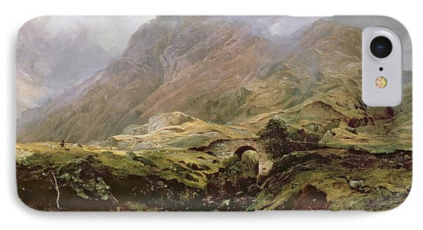 Glencoe IPhone Case by Horatio McCulloch