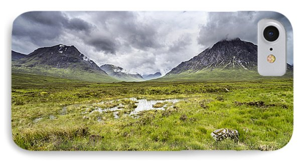 IPhone 7 Case featuring the photograph Glencoe by Jeremy Lavender Photography