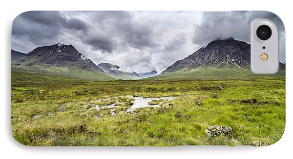 IPhone Case featuring the photograph Glencoe by Jeremy Lavender Photography