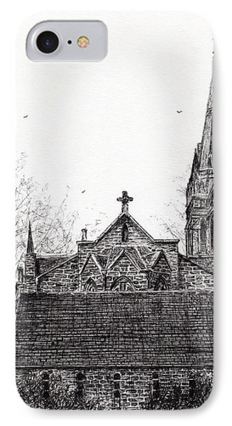 Glenmuick Church IPhone Case by Vincent Alexander Booth