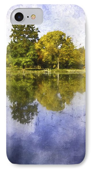 Glenview Impressions IPhone Case by Scott Norris