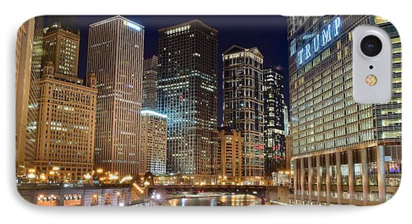 Glitz And Glamour Of Chicago IPhone Case by Frozen in Time Fine Art Photography