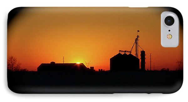 Global Sunset IPhone Case by Sue Stefanowicz