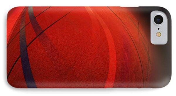 Globoid IPhone Case by John Krakora