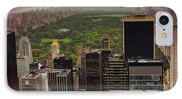 Gloomy Central Park IPhone Case by Martin Newman