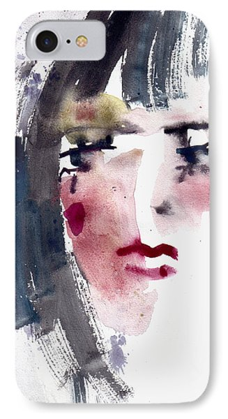 Gloomy Woman  IPhone Case by Faruk Koksal