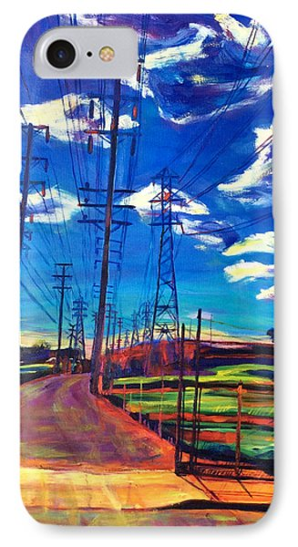 Glorious Afternoon IPhone Case by Bonnie Lambert