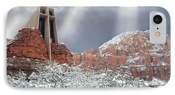 Glorious Chapel Of The Holy Cross IPhone Case