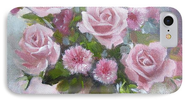 Glorious Roses IPhone Case by Chris Hobel