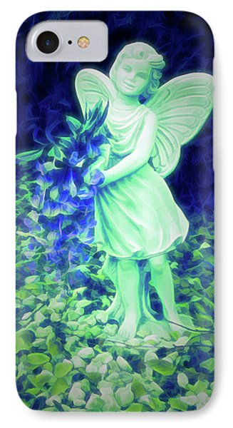 Glow In The Dark Fairy  IPhone Case by Aimee L Maher Photography and Art Visit ALMGallerydotcom