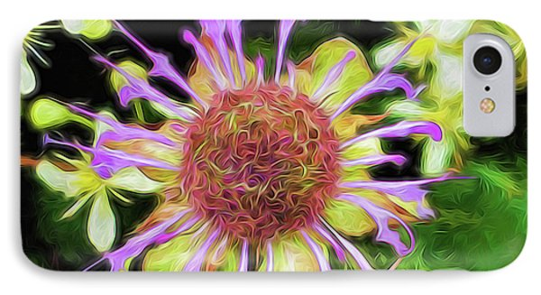 Glow Mountain Wildflower IPhone Case by Cindy Archbell