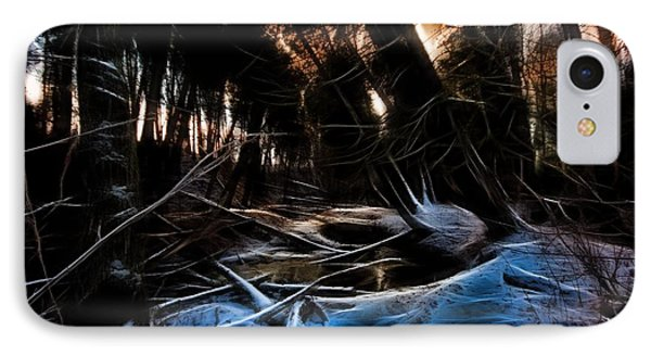 IPhone Case featuring the photograph Glow River by Michaela Preston