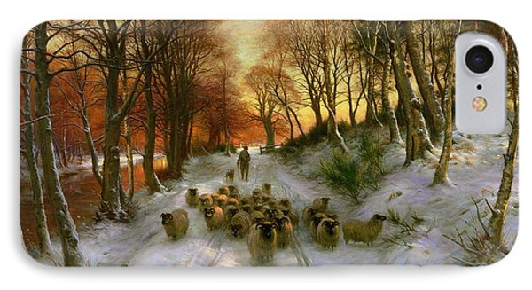 Glowed With Tints Of Evening Hours IPhone Case by Joseph Farquharson