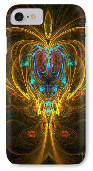 Glowing Chalise IPhone Case by Sandra Bauser Digital Art