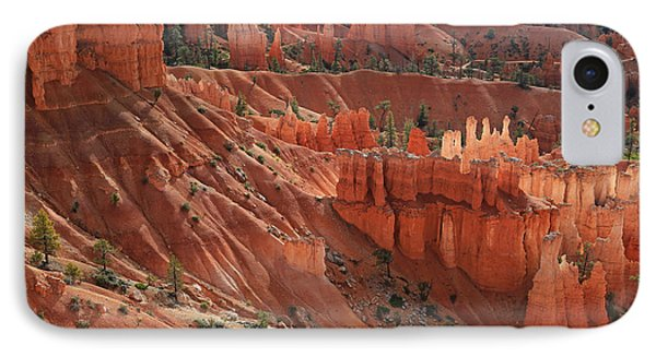 IPhone Case featuring the photograph Glowing Hoodoos by Donna Kennedy