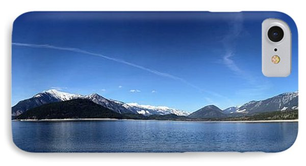 IPhone Case featuring the photograph Glowing In The Blue by Victor K