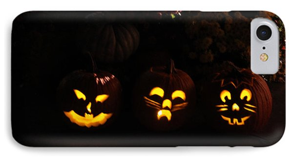 Glowing Pumpkins Phone Case by Suzanne Gaff