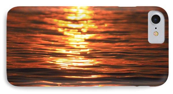 Glowing Ripples Phone Case by Karol Livote