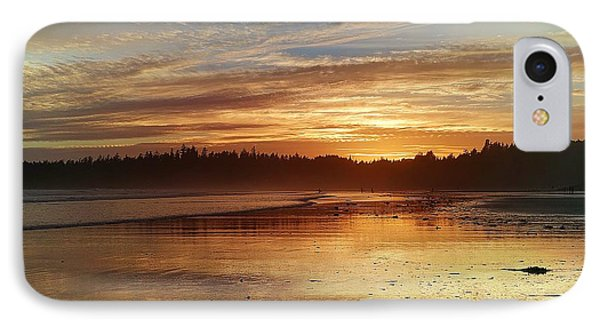Long Beach I, British Columbia IPhone Case by Heather Vopni