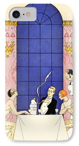 Gluttony IPhone Case by Georges Barbier