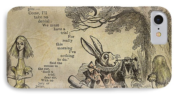 Go Ask Alice IPhone Case by Diana Boyd